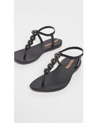 Ipanema Pearl Ii T Strap Sandals - Black