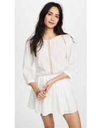 Peixoto - Rose Beach Dress - Lyst
