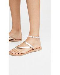 Brinker & Eliza Love Struck Anklet - White