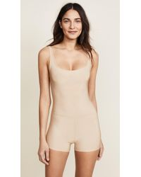 Only Hearts Second Skins Tank John Romper - Natural