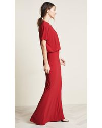 Norma Kamali - Boxy Top Fishtail Gown - Lyst