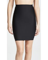 Yummie By Heather Thomson High Waist Skirt Slip - Black