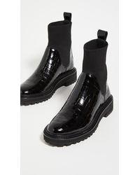 Loeffler Randall Bridget Chelsea Combat Boots - Black