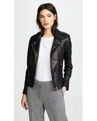 IRO Han Leather Jacket - Black