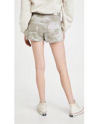 PAIGE Mayslie Utility Shorts - Multicolour