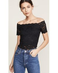 Hanky Panky | Evelyn Off Shoulder Top | Lyst
