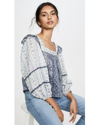 Free People - Mostly Meadow Blouse - Lyst