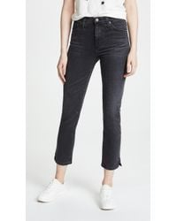 AG Jeans - The Isabelle Jeans With Slit - Lyst