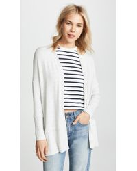 Three Dots - Brushed Knit Cardigan - Lyst