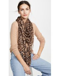 Madewell Leopard Scarf - Multicolor