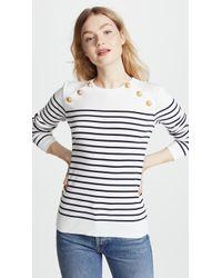 Petit Bateau Miro Striped Cotton Sweater - Multicolor
