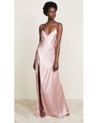 Michelle Mason - Strappy Wrap Gown - Lyst