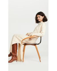Line & Dot Dorothy Sweater Dress - Natural