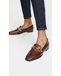 Stella Luna Lenny With Studding Loafers - Brown