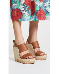 Ferragamo   Maratea Wedge Sandals   Lyst
