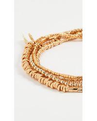 Shashi Golden Globes Bracelet - Metallic