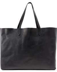 Madewell - East / West Transport Tote - Lyst
