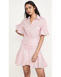 Cinq À Sept Tous Les Jours Stripe Asher Dress - Pink