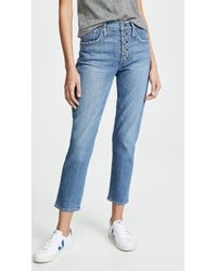 James Jeans Mona Slim Mom Jeans - Blue