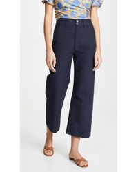 Apiece Apart Merida Pants - Blue