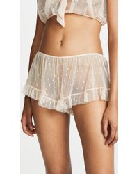 Only Hearts - Coucou Lola Ruffle Hipster Shorts - Lyst