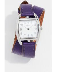 What Goes Around Comes Around - Hermes Pm Quartz Watch, 27mm - Lyst