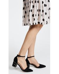 Steven by Steve Madden - Bea Ankle Strap Court Shoes - Lyst