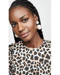 Rebecca de Ravenel Classic 2 Drop Earrings - Multicolour
