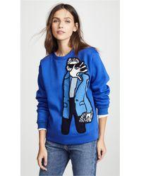 Michaela Buerger - Paparazzi Girl Sweatshirt - Lyst