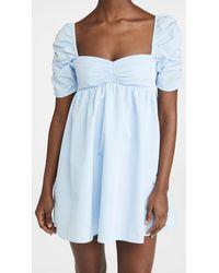 Amanda Uprichard Ariana Dress - Blue