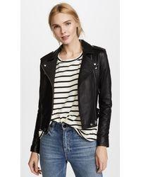 IRO Ashville Leather Jacket - Black