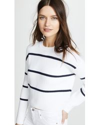 Vince - Racked Rib Stripe Jumper - Lyst