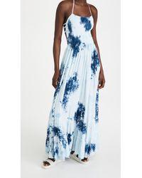Tiare Hawaii Naia Maxi Dress - Blue