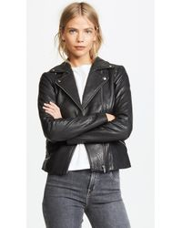 d55bf7603 Women's VEDA Leather jackets Online Sale - Lyst