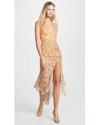 Nicholas - Drawstring Dress - Lyst