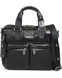 Tumi Albany Slim Compartment Briefcase - Black