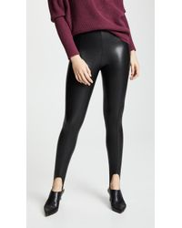 Commando - Faux Leather Stirrup Trousers - Lyst