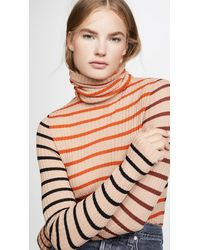 Nude Turtleneck Sweater - Multicolor