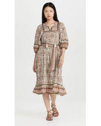Cleobella Magdalena Midi Dress - Multicolour