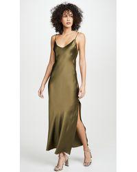 DANNIJO Mossy Slip Dress - Green