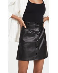 Cupcakes And Cashmere Joanie Skirt - Black