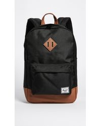 Herschel Supply Co. Heritage Mid Volume Backpack - Black