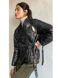 3.1 Phillip Lim Utility Ripstop Nylon Kimono Jacket - Black