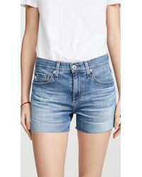 AG Jeans Hailey Cutoff Shorts - Blue