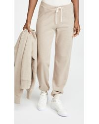 Tory Burch French Terry Joggers - Natural