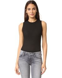 Getting Back to Square One - The Sleeveless Bodysuit - Lyst