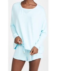 Honeydew Intimates Starlight Sweatshirt - Blue