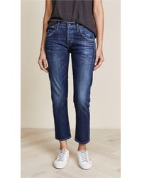 Citizens of Humanity Premium Vintage Emerson Slim Bf Jeans - Blue