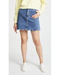 Joe's Jeans - Bella Skirt With Wavy Hem - Lyst