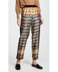 Forte Forte Printed Silk Pants - Multicolor